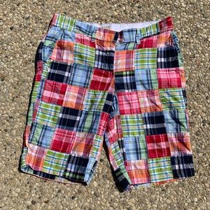 LL Bean Washed Chino Bermuda Shorts